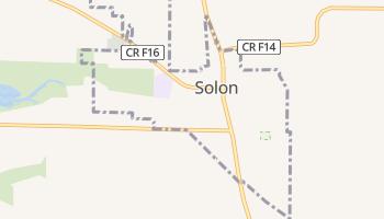 Solon, Iowa map