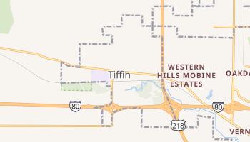 Tiffin, Iowa map