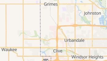 Urbandale, Iowa map