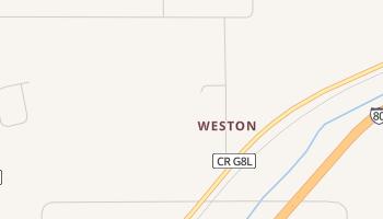 Weston, Iowa map