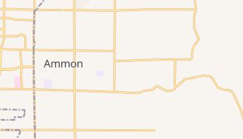Ammon, Idaho map