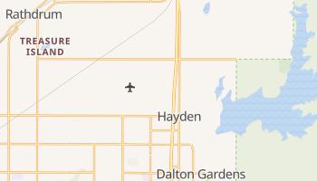 Hayden, Idaho map
