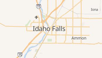 Idaho Falls, Idaho map