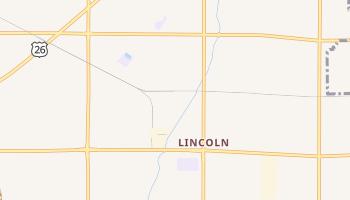 Lincoln, Idaho map