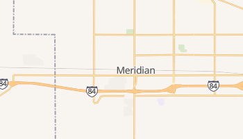Meridian, Idaho map