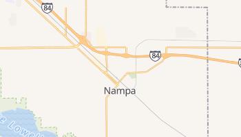 Nampa, Idaho map