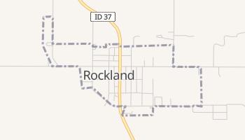 Rockland, Idaho map