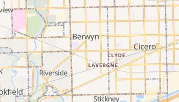 Berwyn, Illinois map