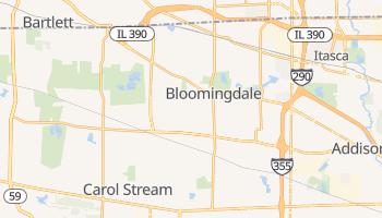 Bloomingdale, Illinois map