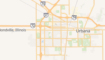Champaign, Illinois map