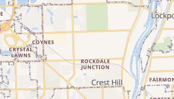 Crest Hill, Illinois map