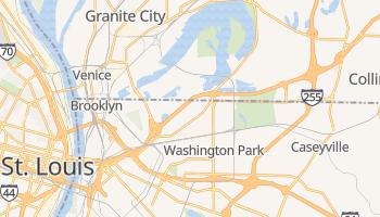 Fairmont City, Illinois map