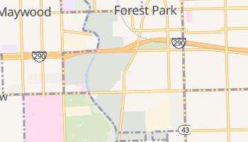 Forest Park, Illinois map