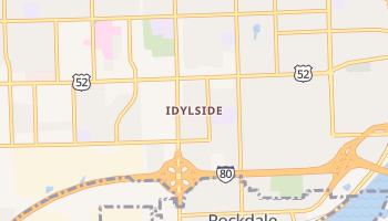Idylside, Illinois map