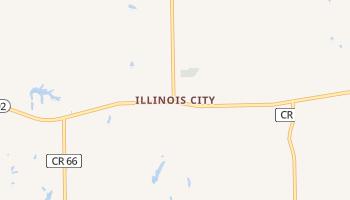 Illinois City, Illinois map