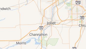 Joliet, Illinois map
