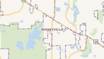 Keeneyville, Illinois map