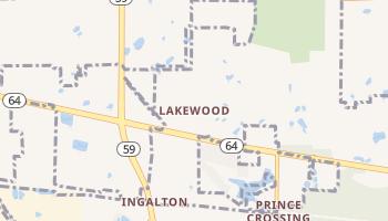 Lakewood, Illinois map