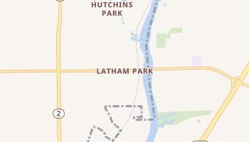 Latham Park, Illinois map