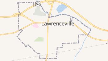 Lawrenceville, Illinois map