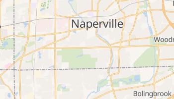 Naperville, Illinois map