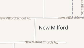 New Milford, Illinois map