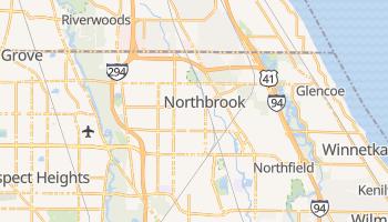 Northbrook, Illinois map