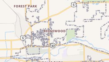 Ridgewood, Illinois map