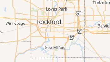Rockford, Illinois map