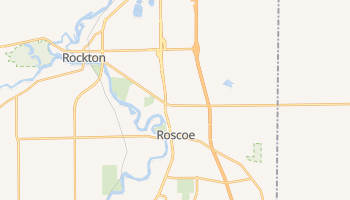 Roscoe, Illinois map