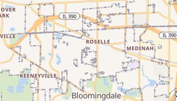 Roselle, Illinois map