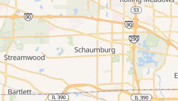 Schaumburg, Illinois map