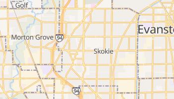 Skokie, Illinois map