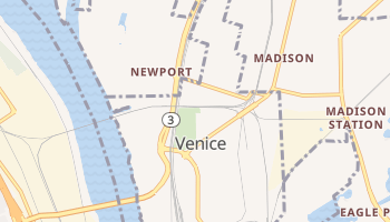 Venice, Illinois map