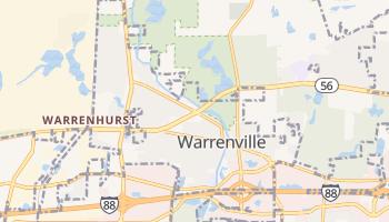 Warrenville, Illinois map