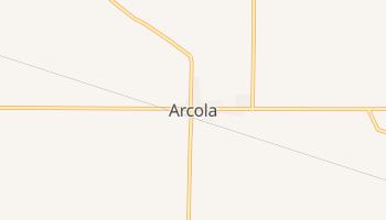 Arcola, Indiana map
