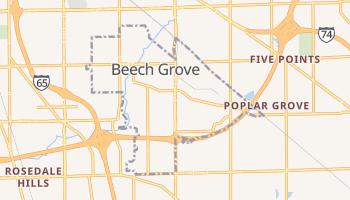 Beech Grove, Indiana map
