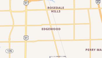Edgewood, Indiana map