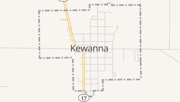 Kewanna, Indiana map