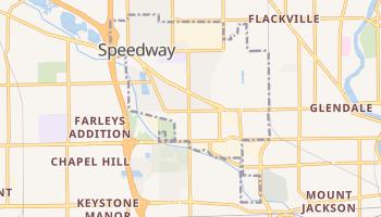 Speedway, Indiana map