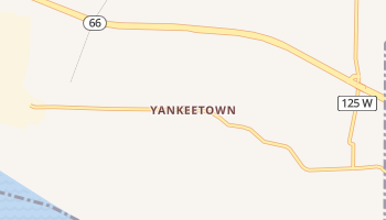 Yankeetown, Indiana map