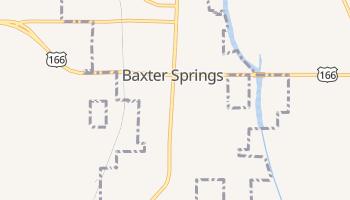 Baxter Springs, Kansas map