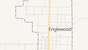 Englewood, Kansas map