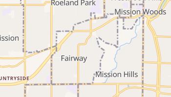 Fairway, Kansas map