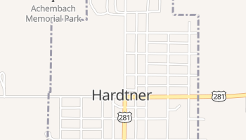Hardtner, Kansas map