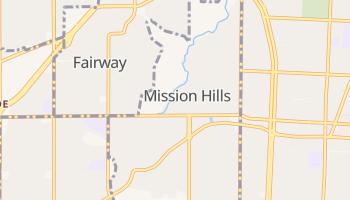 Mission Hills, Kansas map