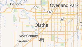 Olathe, Kansas map