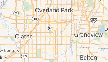Overland Park, Kansas map