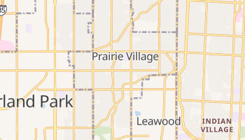 Prairie Village, Kansas map