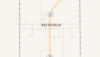 Richfield, Kansas map